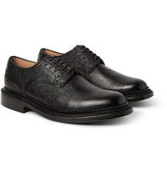 Grenson - + Neighborhood William Pebble-Grain Leather Brogues