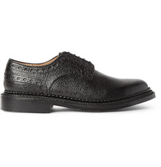 Grenson + Neighborhood William Pebble-Grain Leather Brogues
