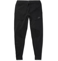 Nike Tapered Stretch Cotton-Blend Tech Knit Sweatpants