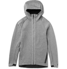 Nike Cotton-Blend Jersey Zip-Up Hoodie
