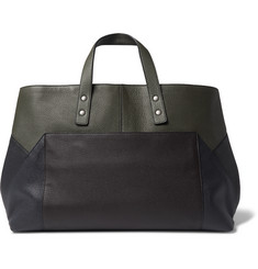 Bottega Veneta Colour-Block Leather Tote Bag