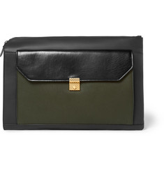 Bottega Veneta Colour-Block Leather Pouch