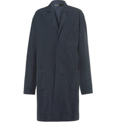 Haider Ackermann Unstructured Cotton and Linen-Blend Trench Coat