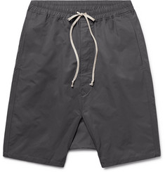 Rick Owens Pod Cotton-Blend Shell Shorts