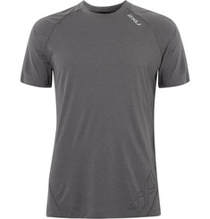 2XU X-CTRL Mesh-Panelled Stretch-Jersey T-Shirt