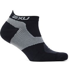 2XU Race VECTR Stretch-Knit No-Show Compression Socks