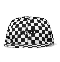 Givenchy Chequerboard Printed Shell Cap
