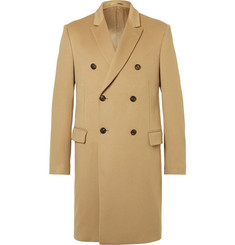 Kent & Curwen Slim-Fit Double-Breasted Virgin Wool Coat