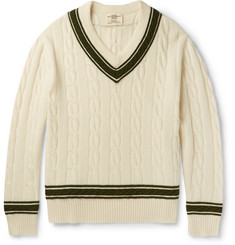Kent & Curwen - Merino Wool Cricket Sweater