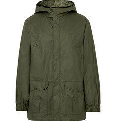 A.P.C. - Guillaume Coated-Cotton Hooded Parka