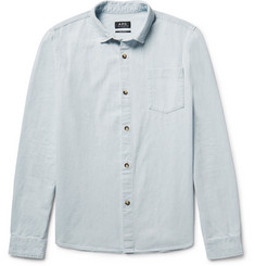 A.P.C. John Washed-Denim Shirt