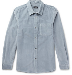 A.P.C. Trevor Slim-Fit Cotton-Corduroy Shirt