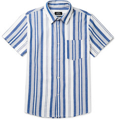 A.P.C. Bryan Striped Cotton Shirt
