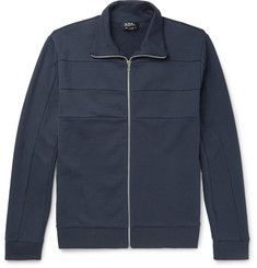 A.P.C. Vincent Cotton Zip-Up Sweatshirt