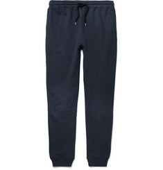 A.P.C. Slim-Fit Tapered Loopback Cotton-Jersey Sweatpants