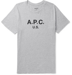 A.P.C. Slim-Fit Printed Cotton-Blend Jersey T-Shirt