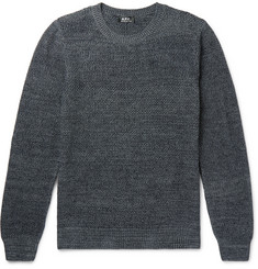 A.P.C. Murrow Mélange Cotton Sweater