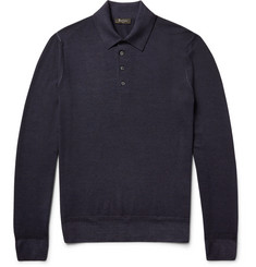 Berluti Wool Polo Shirt
