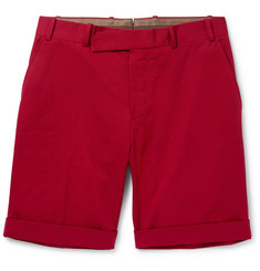 Berluti Cotton-Gabardine Shorts