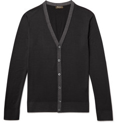 Berluti Garment-Dyed Wool Cardigan