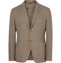 Aspesi - Beige Slim-Fit Unstructured Linen Blazer