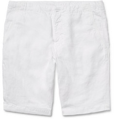 Aspesi Slim-Fit Linen Shorts
