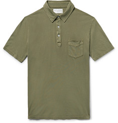 Officine Generale BD Cotton-Jersey Polo Shirt