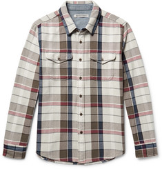Outerknown - Checked Organic Cotton-Twill Shirt
