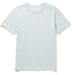Outerknown - Typhoon Slim-Fit Striped Slub Cotton-Jersey T-Shirt