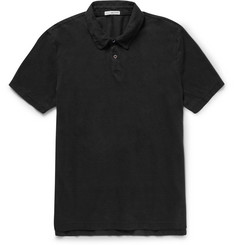 James Perse - Slim-Fit Cotton-Jersey Polo Shirt