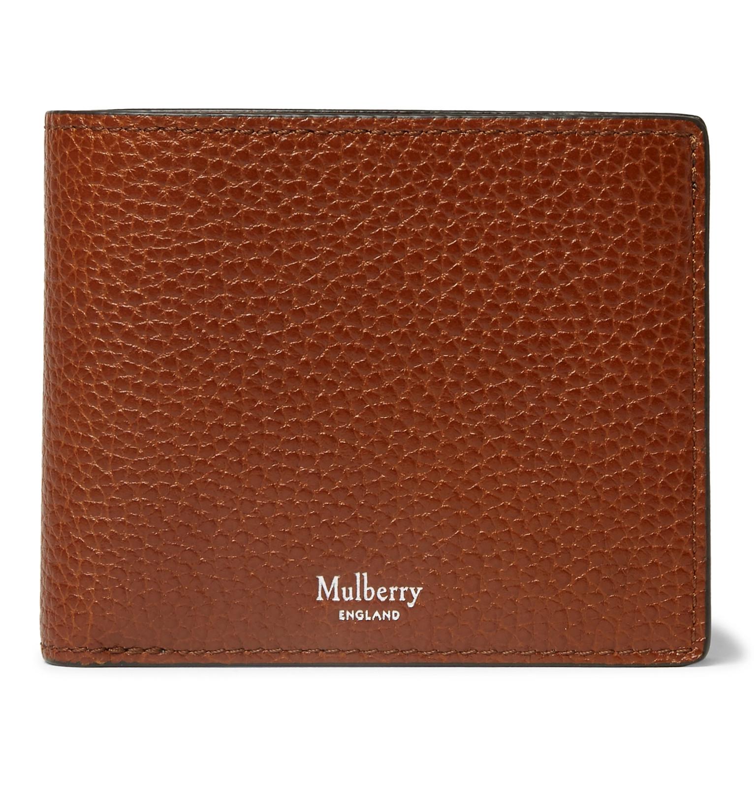 ed245cb9e8 Mulberry - Full-Grain Leather Billfold Wallet