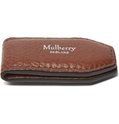 Mulberry - Full-Grain Leather Money Clip