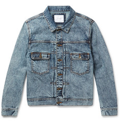 Saturdays NYC - Ray Acid-Washed Denim Jacket
