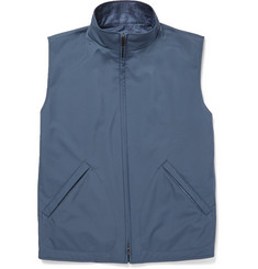 Loro Piana - Reversible Shell and Woven Silk and Cashmere-Blend Gilet