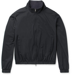 Loro Piana Slim-Fit Reversible Storm System Shell and Cashmere Bomber Jacket