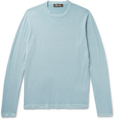 Loro Piana - Virgin Wool and Silk-Blend Sweater
