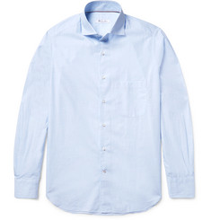 Loro Piana Checked Cotton-Poplin Shirt