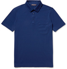 Loro Piana Stretch-Cotton Piqué Polo Shirt