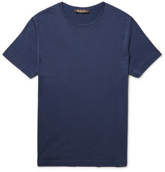 Loro Piana Slim-Fit Silk and Cotton-Blend T-Shirt