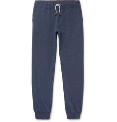 Loro Piana Slim-Fit Tapered Loopback Stretch-Cotton Jersey Sweatpants
