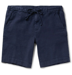 Loro Piana - Stretch Linen and Cotton-Blend Drawstring Shorts