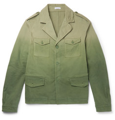 Tomas Maier Dégradé Stretch-Cotton Field Jacket