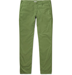 Tomas Maier Riviera Slim-Fit Cotton Trousers