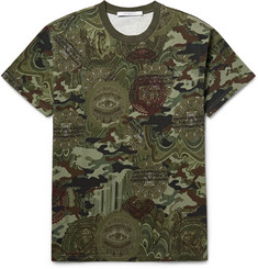 Givenchy - Printed Cotton-Jersey T-Shirt