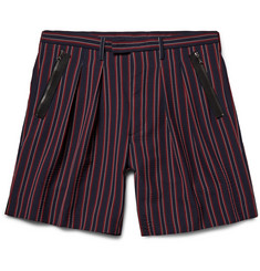 Wooyoungmi Striped Seersucker Shorts