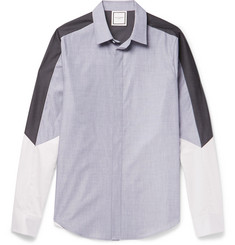 Wooyoungmi Panelled Cotton Shirt