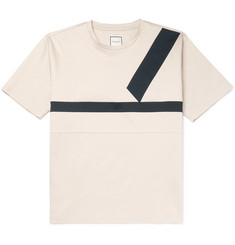 Wooyoungmi Panelled Cotton-Jersey T-Shirt