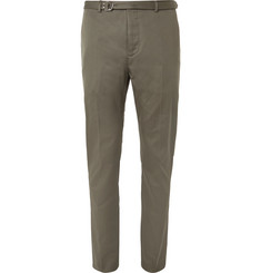Valentino Slim-Fit Cotton-Twill Trousers