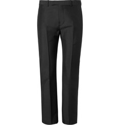 Valentino Mohair and Virgin Wool-Blend Trousers