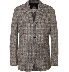 Maison Margiela Linen-Blend Tweed Blazer